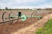 Water Irrigation Wheel and Mechanism — Stock Photo