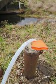 Extracting Water From Well — Stock Photo