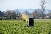 Liquid Manure on Washington Crop — Stock Photo