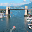 False Creek and Vancouvers Burrard Street Bridge — Stock Photo #68507005