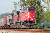 Canadian National or CN Train Engine — Stock Photo
