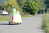 Velomobile or Bicycle Car — Stock Photo