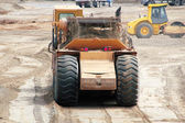 Heavy Industrial Equipment for Construction Site — Stock Photo