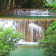 Waterfall in tropical rain forest — Stock Video #69078959