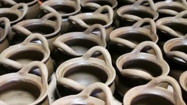 Muitos ofícios da cerâmica — Vídeo stock