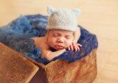 Newborn one week old — Stock Photo