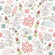 Seamless floral pattern — Stock Vector #53968487