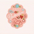 Valentine day card — Stock Vector #70184773