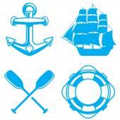 Nautical — Stock Vector