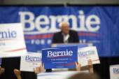 Bernie Sanders Rally — Stock Photo