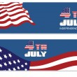 Header for 4th of July — Stock Vector #76878309