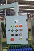 Pannello di controllo in fabbrica — Foto Stock