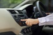 Man Driving His Car — Stock Photo