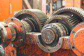 The gear train — Stock Photo