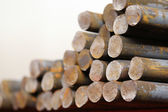 Round billet rods — Stock Photo