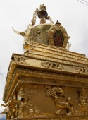 Ancient symbols of Buddhism — Stock Photo