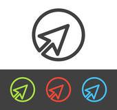 Vector cursor icon — Stock Vector