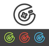 Icono de joystick Vector — Vector de stock