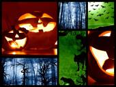 Halloween collage — Stockfoto