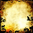 Vintage halloween frame background or texture — Stock Photo #55761047
