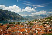 Beautiful landscape of Kotor Bay, Montenegro, Adriatic sea — Стоковое фото
