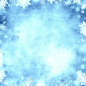 Cold snow christmas background texture — Stock Photo