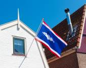 Urk municipality flag — Stock Photo