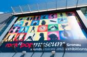 Rock and Pop museum Gronau — Foto de Stock
