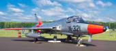 Hawker hunter jet — Stock Photo