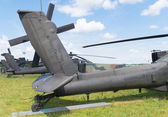 Apache helicopter — Stock Photo