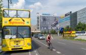Berlin sightseeing bus — Foto Stock