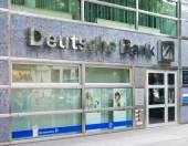 Deutsche bank branch in Berlin — Stock Photo