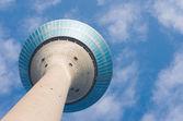 Dusseldorf Rhine tower — Stock Photo