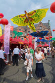 Chinese festival in dusseldorf, germany — Stock Photo