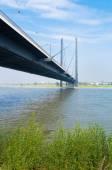 Bridge in dusseldorf, germany — Stock Photo