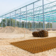 Steel frame construction — Stock Photo #62599707