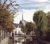 Dutch city center — Stock Photo