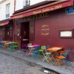 Montmartre in paris — Stock Photo #68828541