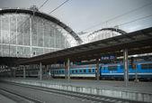 Prague railway station — Stock Photo