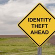 Caution - Identity Theft Ahead — Stock Photo #69153375