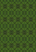 Green monochrome seamless background with geometric patterns — Stock Photo