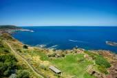 Scenic landscape on the north coast of Sardinia — Stock Photo