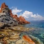 Red rocks of Arbatax, Sardinia — Stock Photo #53670109