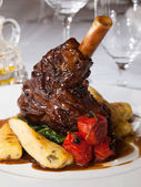 Broiled lamb knuckle — Stock Photo