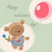 Valentine card — Stock Vector