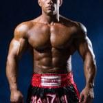Portrait of a kick-boxer. — Stock Photo #68560759