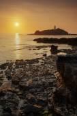 Godrevy sunset — Stock Photo