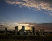 Stonehenge summer solstice sunrise — Stock Photo