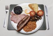Full English — Stock Photo