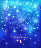 Elegant Christmas background — Stock Vector